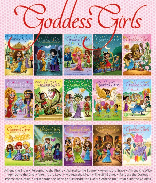 Goddess Girls Joan Holub Suzanne Williams Simon & Schuster
