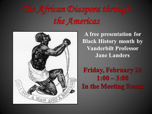 The African Diaspora_Feb.26