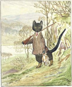 Potter Illus Kitty in Boots