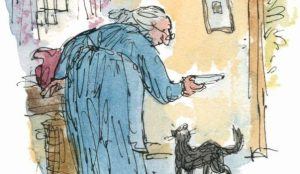 Quentin Blake Illus Kitty in boots