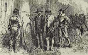 """The return of Governor White to the """"Lost Colony"""""""