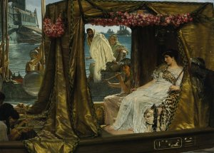 Antony and Cleopatra, by Lawrence Alma-Tadema