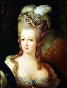 Marie Antoinette, Portrait by Jean-Baptiste Gautier Dagoty, 1775. Musée Antoine Lécuyer.