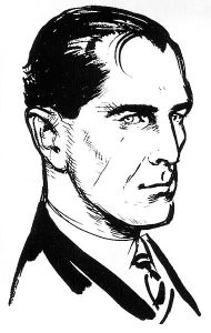 Ian Fleming's commissioned drawing of James Bond