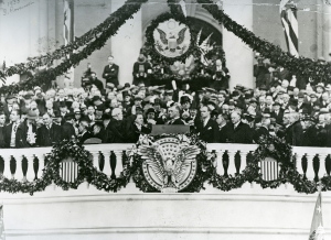 Franklin D. Roosevelt's First Inauguration