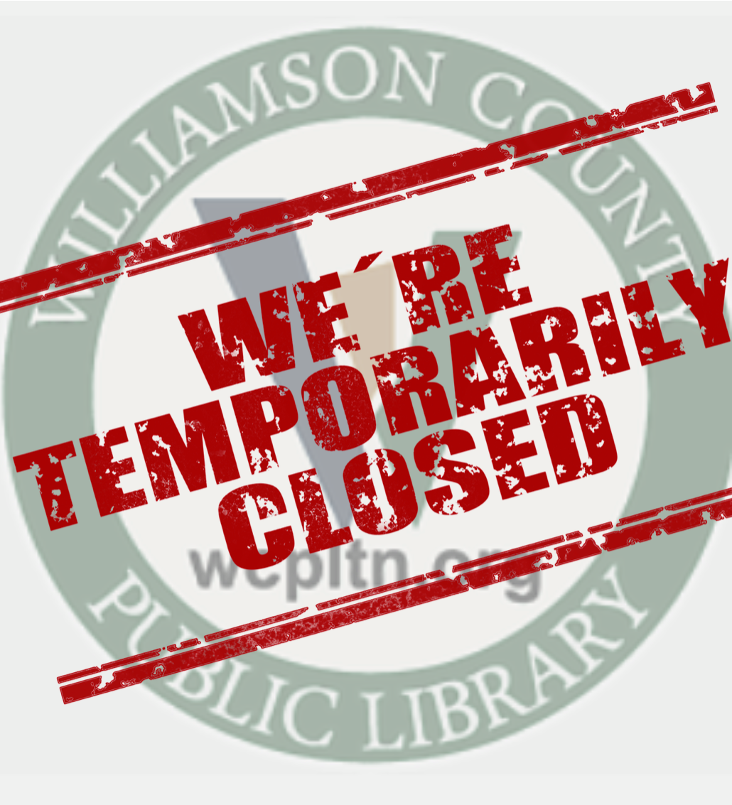 Library Closed Temp