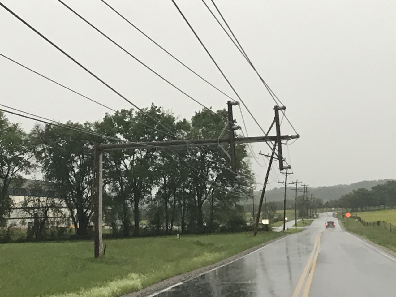 Powerlines Lines Down