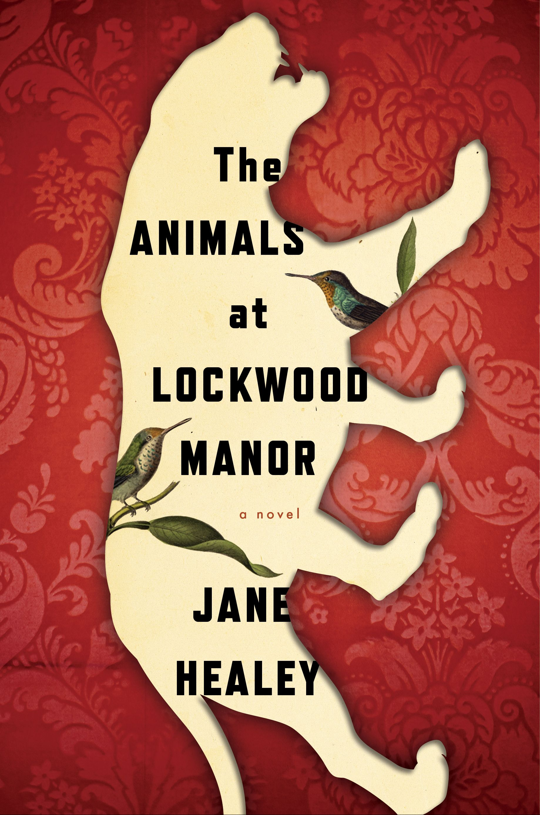 Book cover for The Animals at Lockwood Manor
