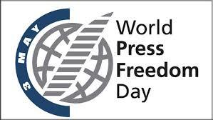 World Press Freedom Day May 3 logo