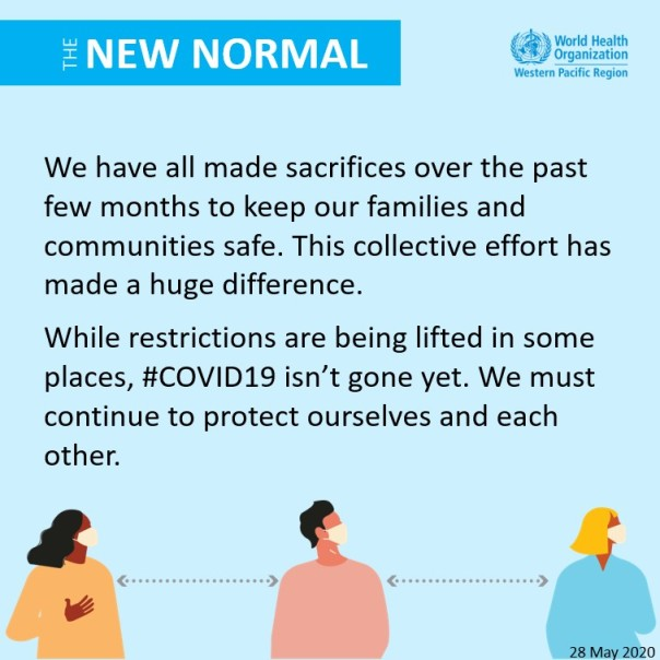 Information from the World Health Organization